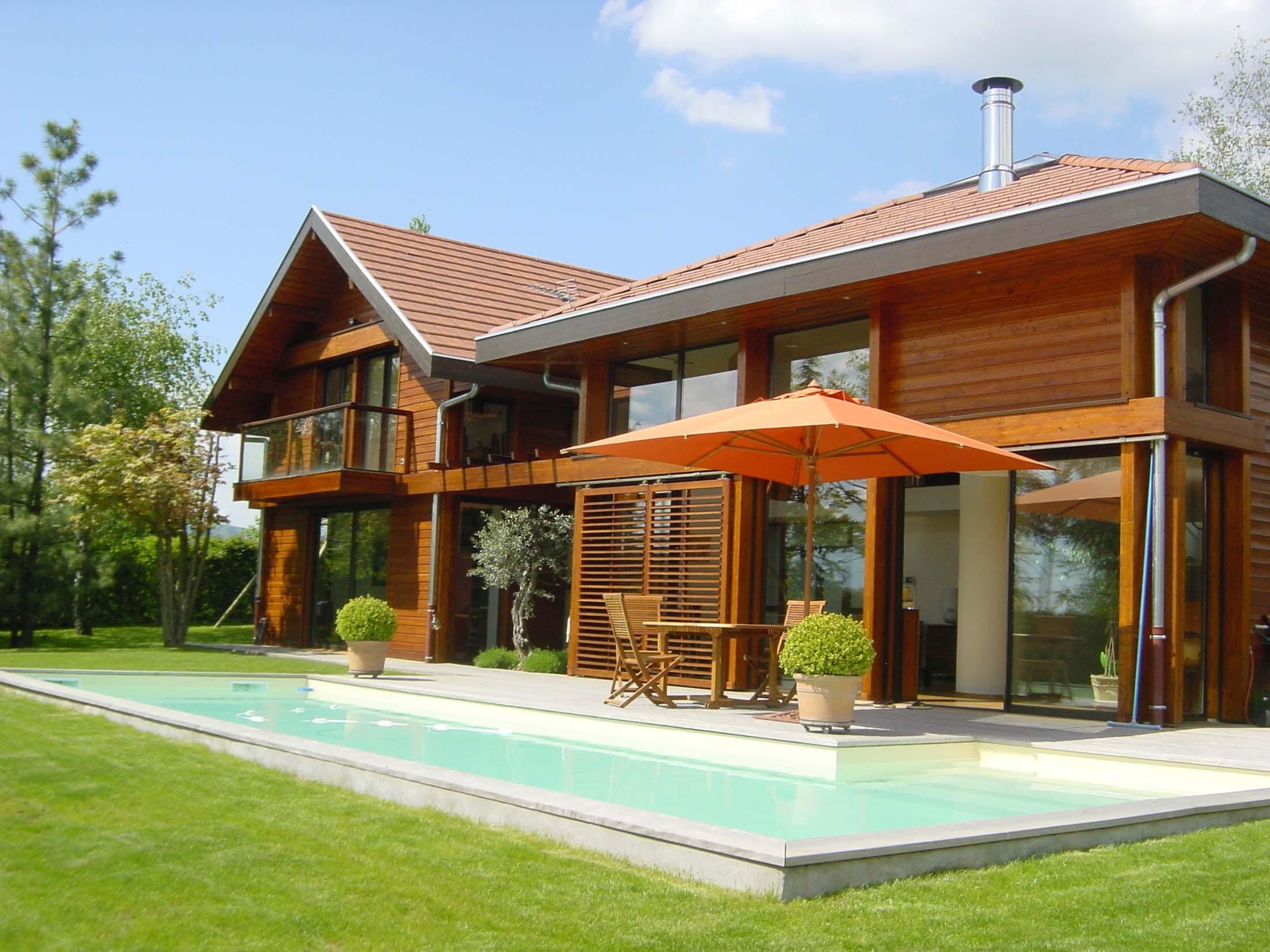 maison en bois 100 autonome ventana blog. Black Bedroom Furniture Sets. Home Design Ideas