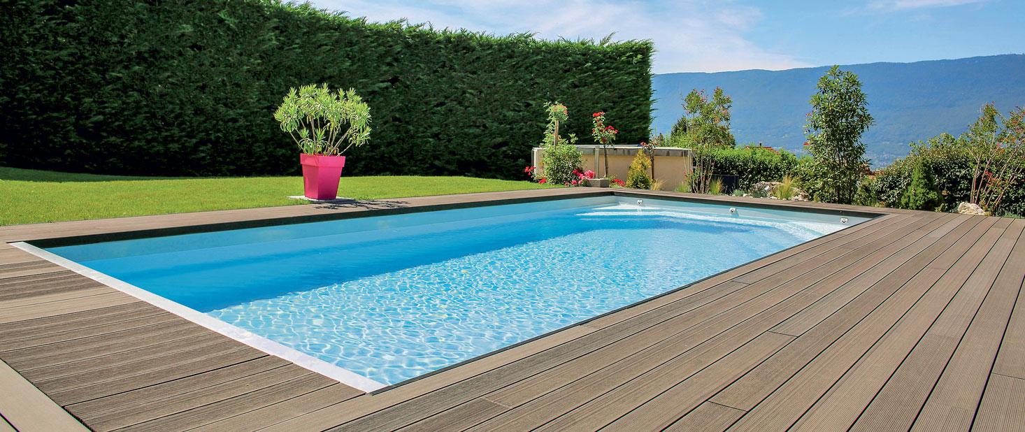 L achat d une piscine les crit res de choix for Achat piscine enterree